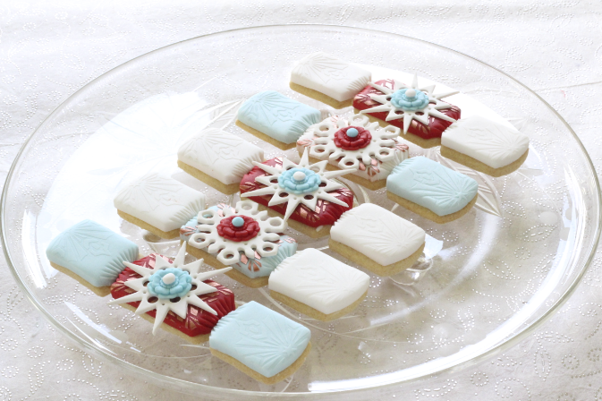 Snowflake cookies tutorials