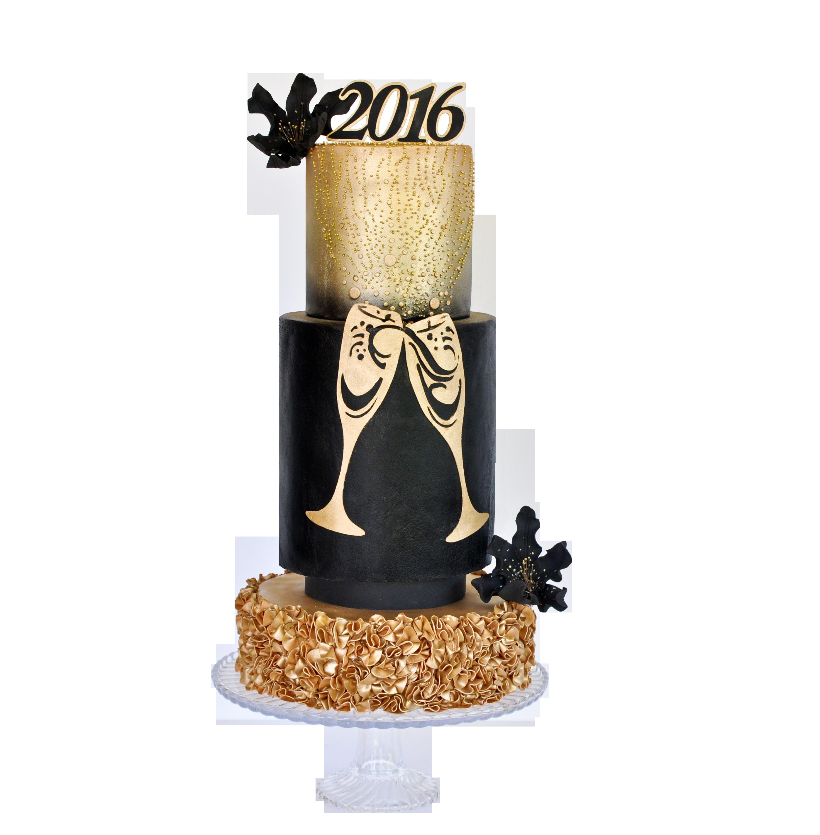 Bubbly New Year Cake Tutorial | Cake Masters Magazine