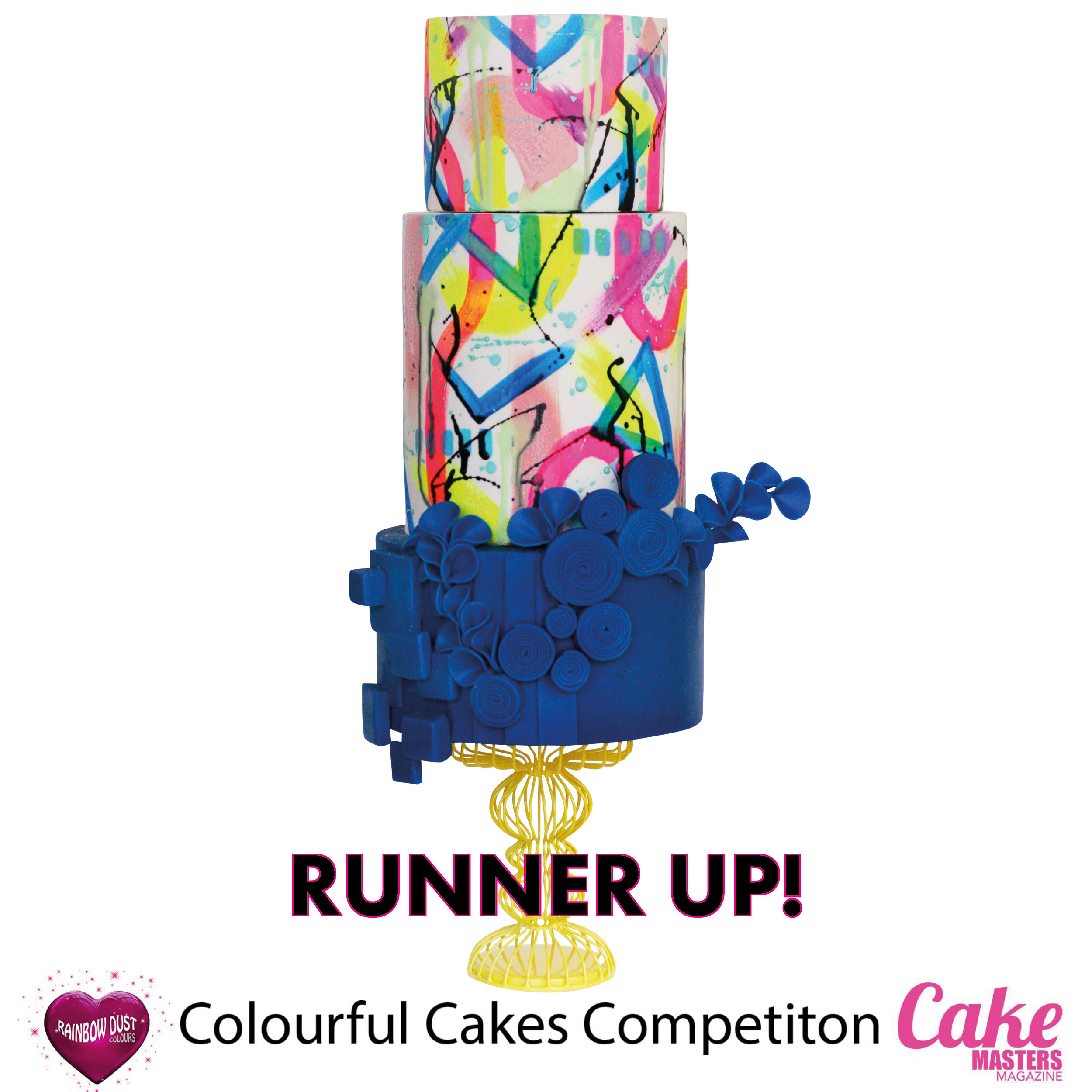 Colourful Cakes Comp FB - Runner Up Amanda Lee, Sugar Sugar Cakes