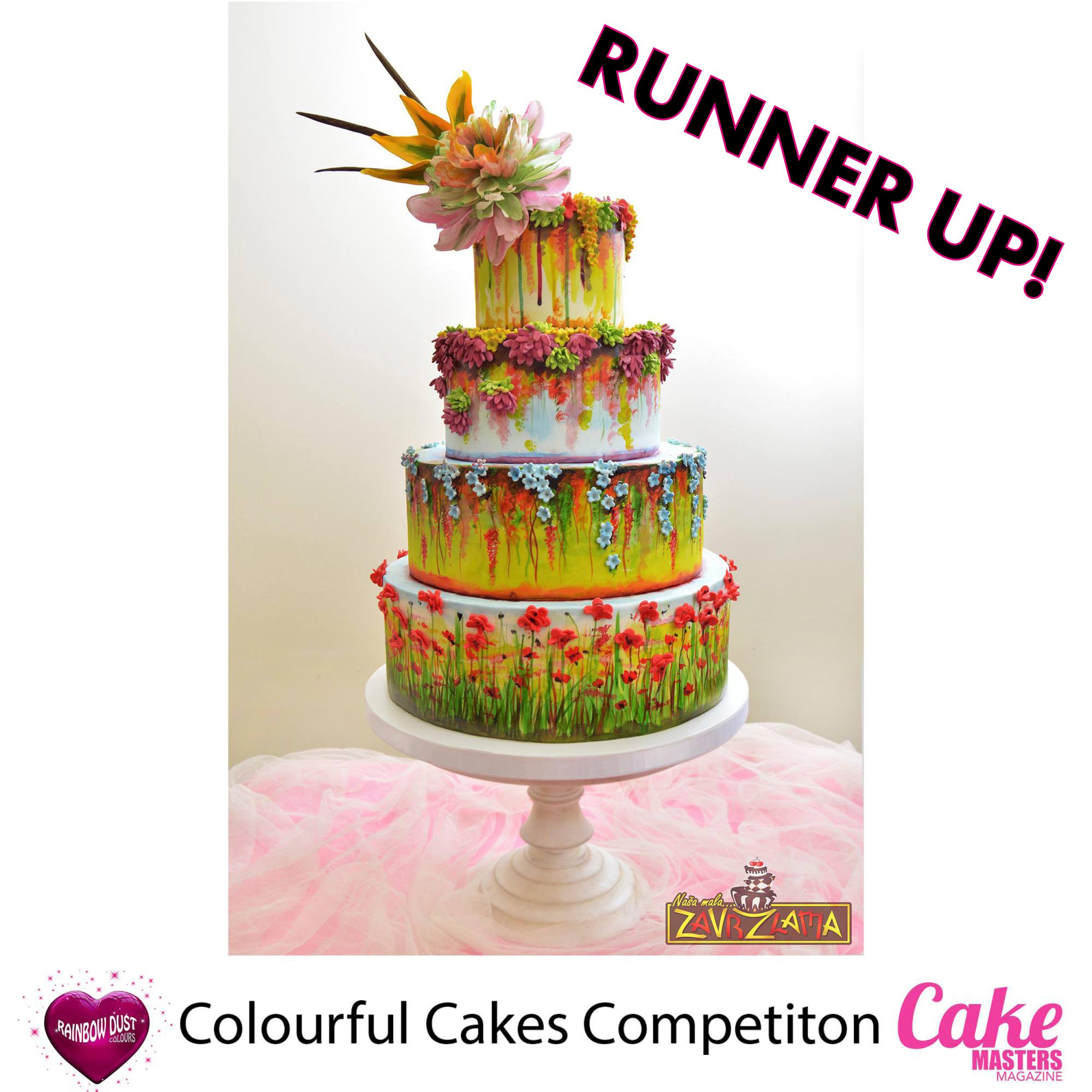 Colourful Cakes Comp FB - Runner Up Nasa Mala Zavrzlama