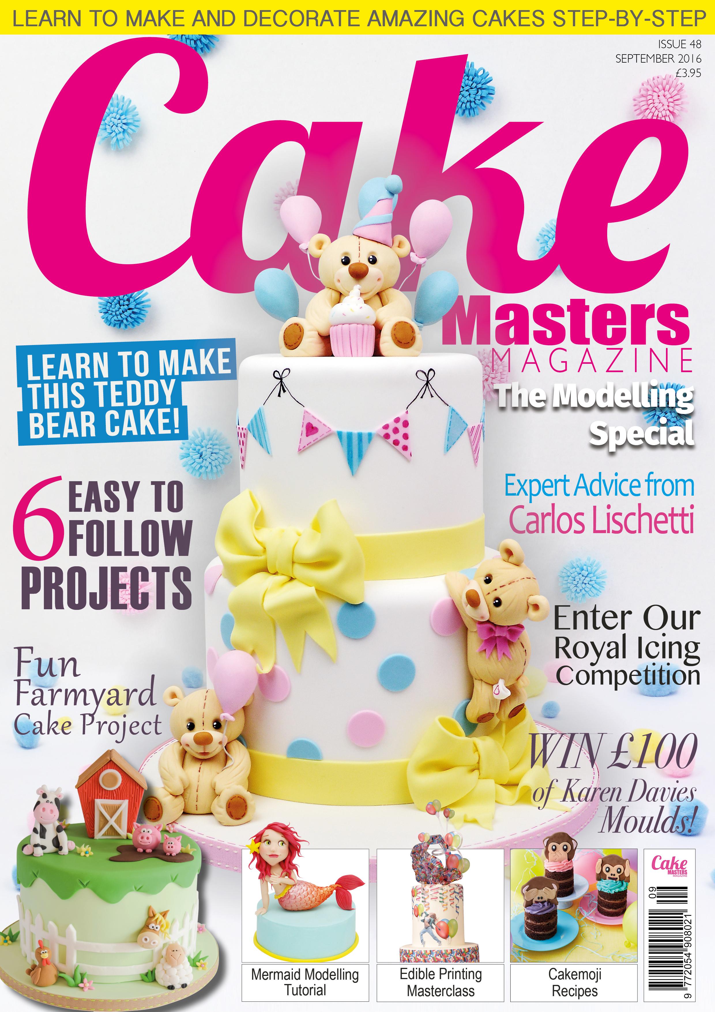 Cake Masters Magazine - Setpeber 2016