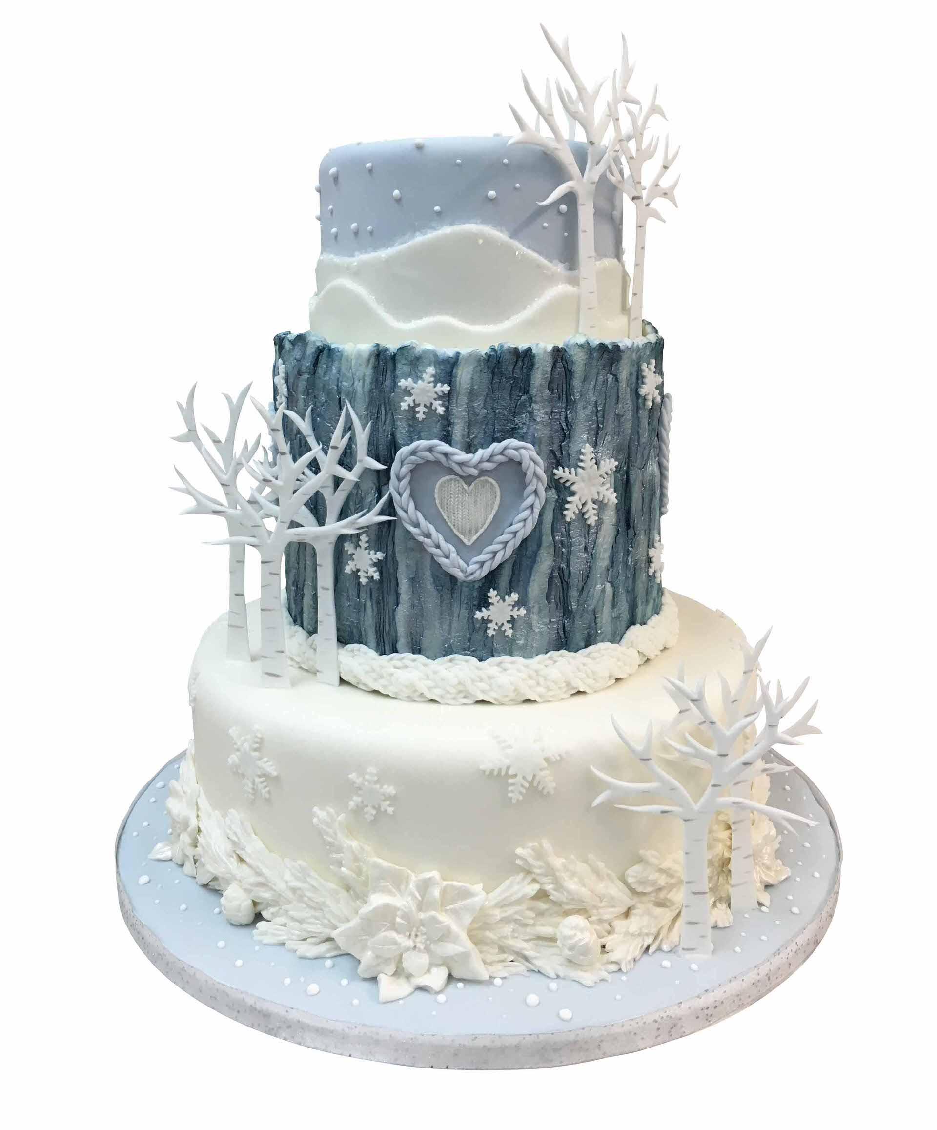 Rustic Winter Cake Tutorial | Cake Masters Magazine