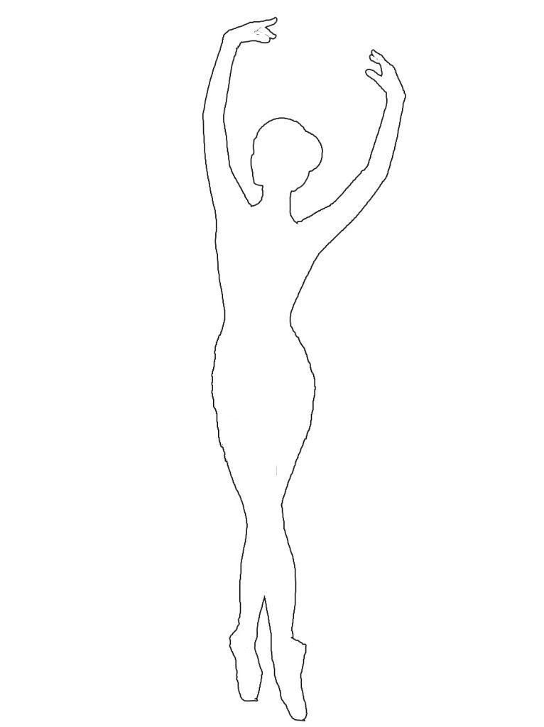 ballerina outline