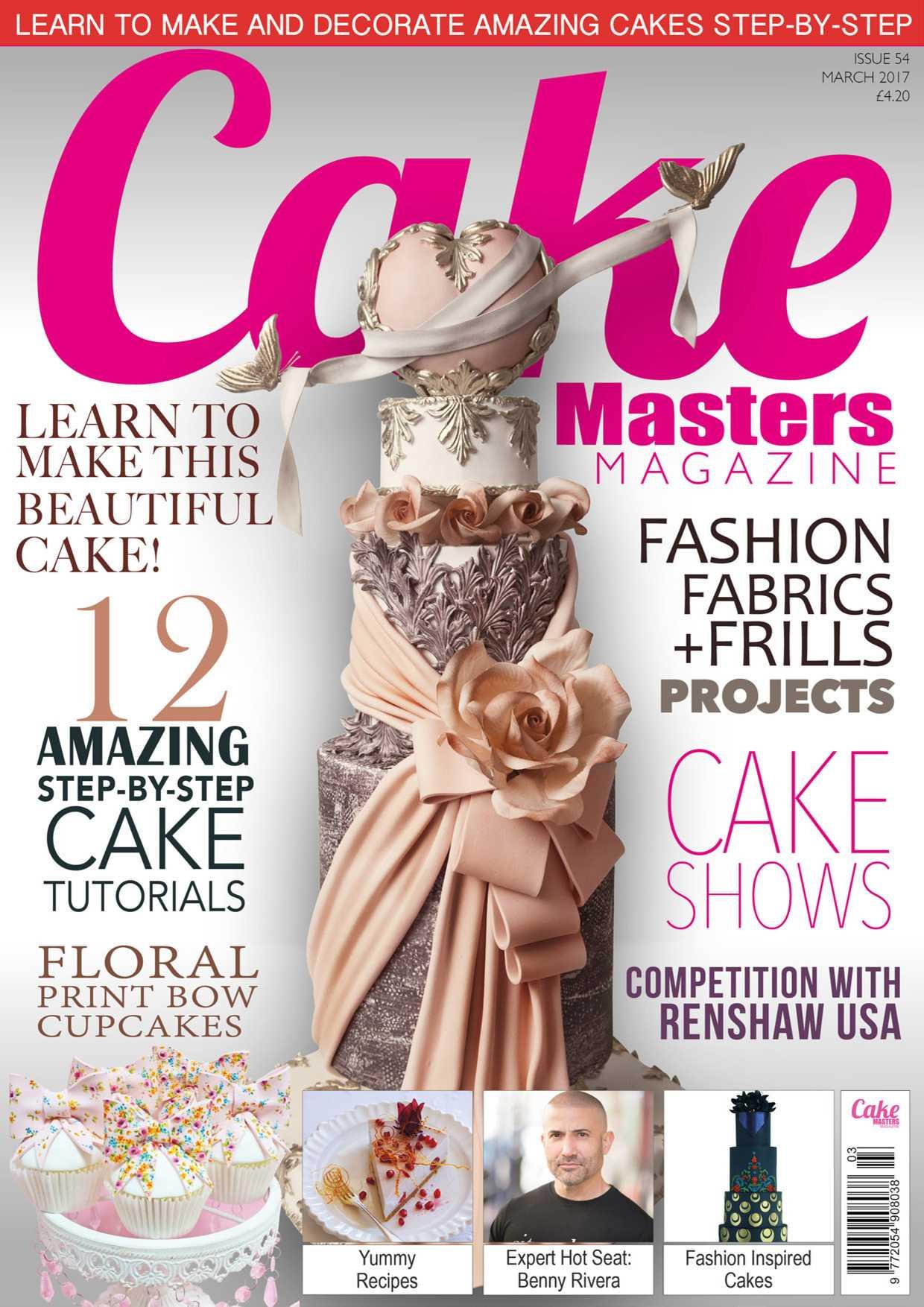 Cake Masters Magazine March 2017