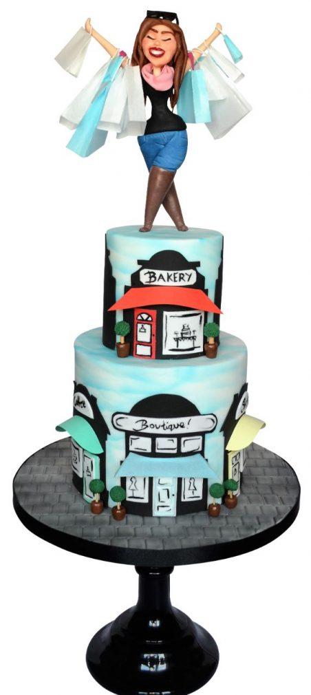 shopping cake tutorial cake masters magazine