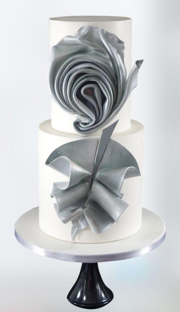 fashion cake tutorial