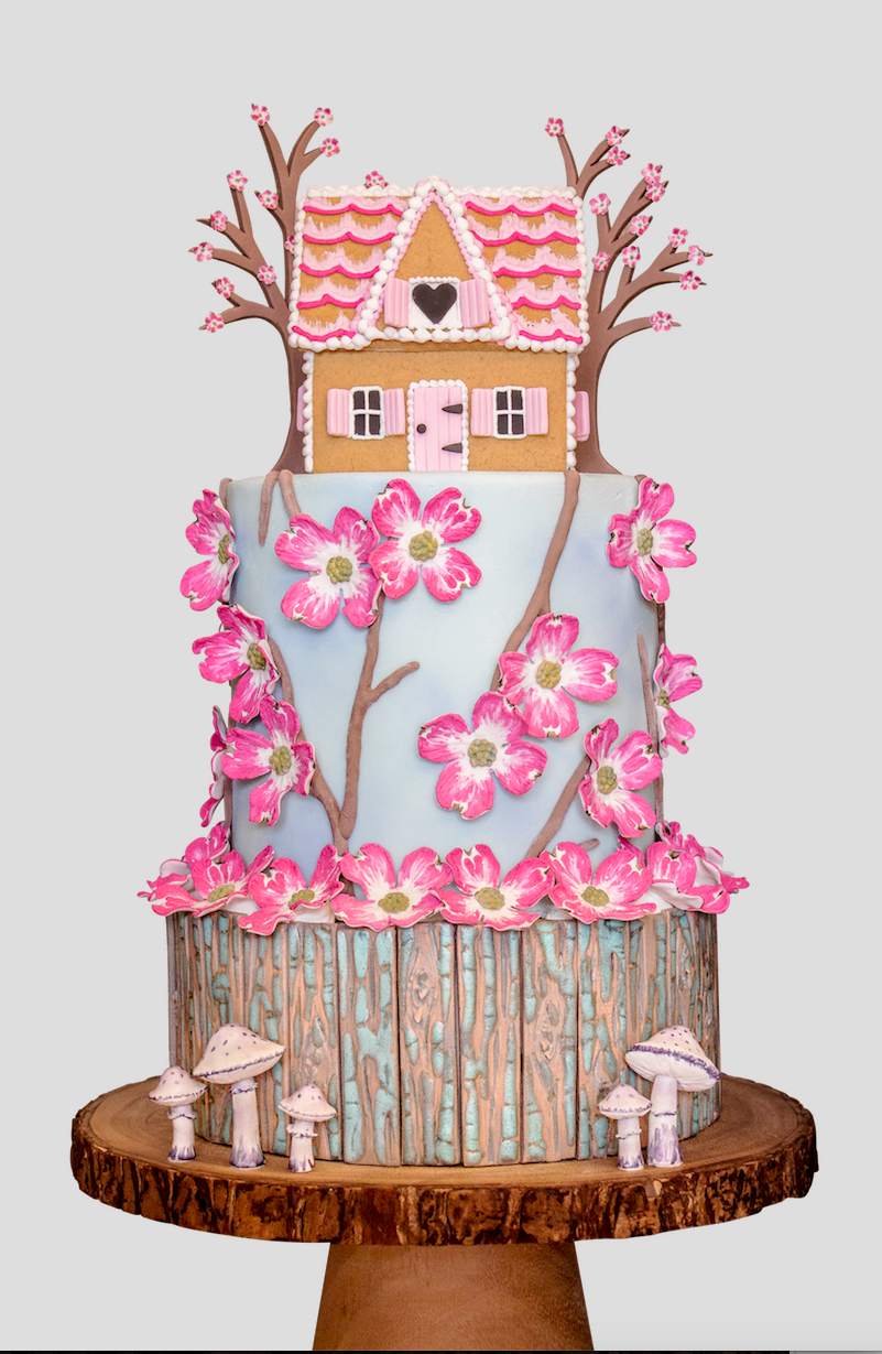 Dogwood Cake Tutorial