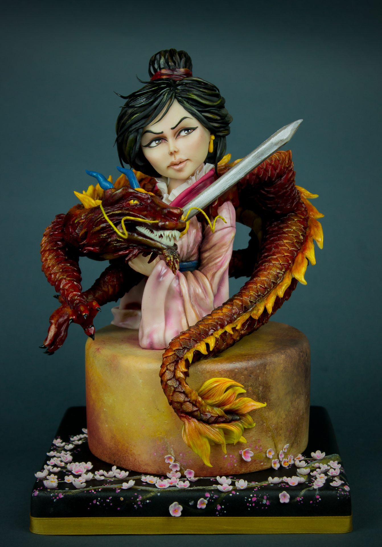 Disney Deviant Sugar Art Cake Collaboration in Cake Masters Magazine