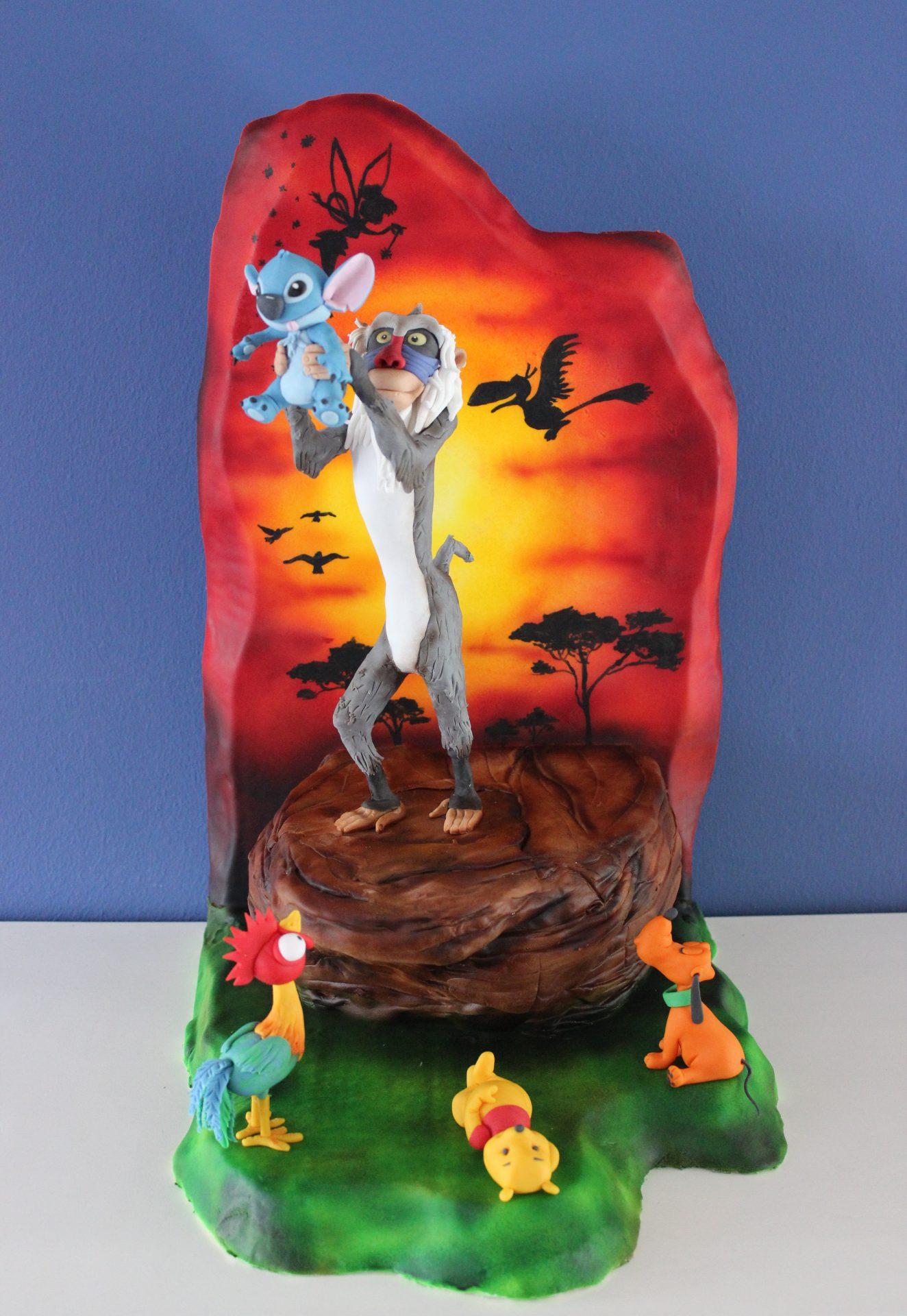 Wendy S Cake Art Facebook : Disney Deviant Sugar Art Collaboration Cake Masters Magazine