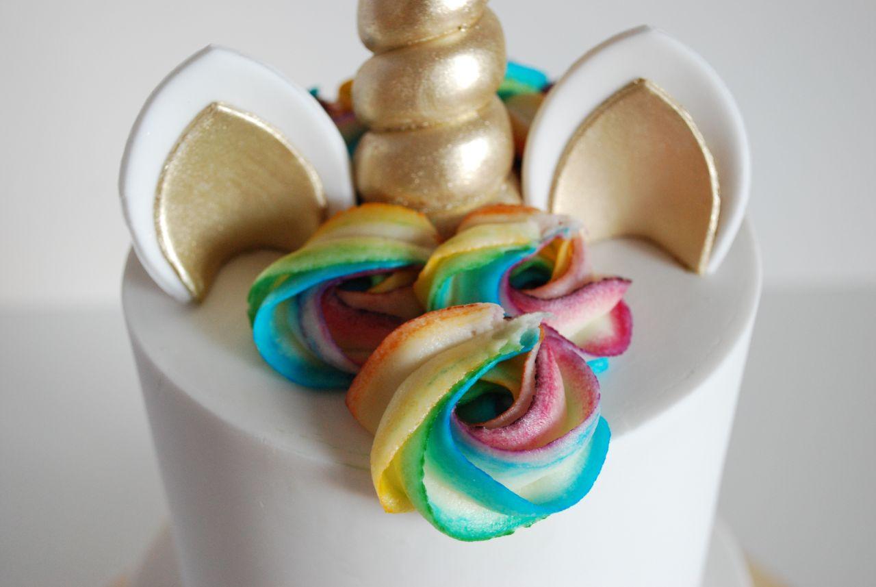 Rainbow Unicorn Cake Masters Magazine Tutorial