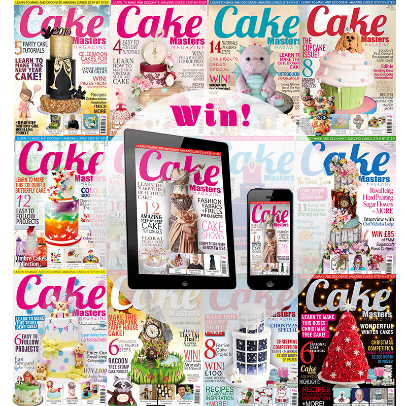 Cake Masters Magazine Wordsearch competition