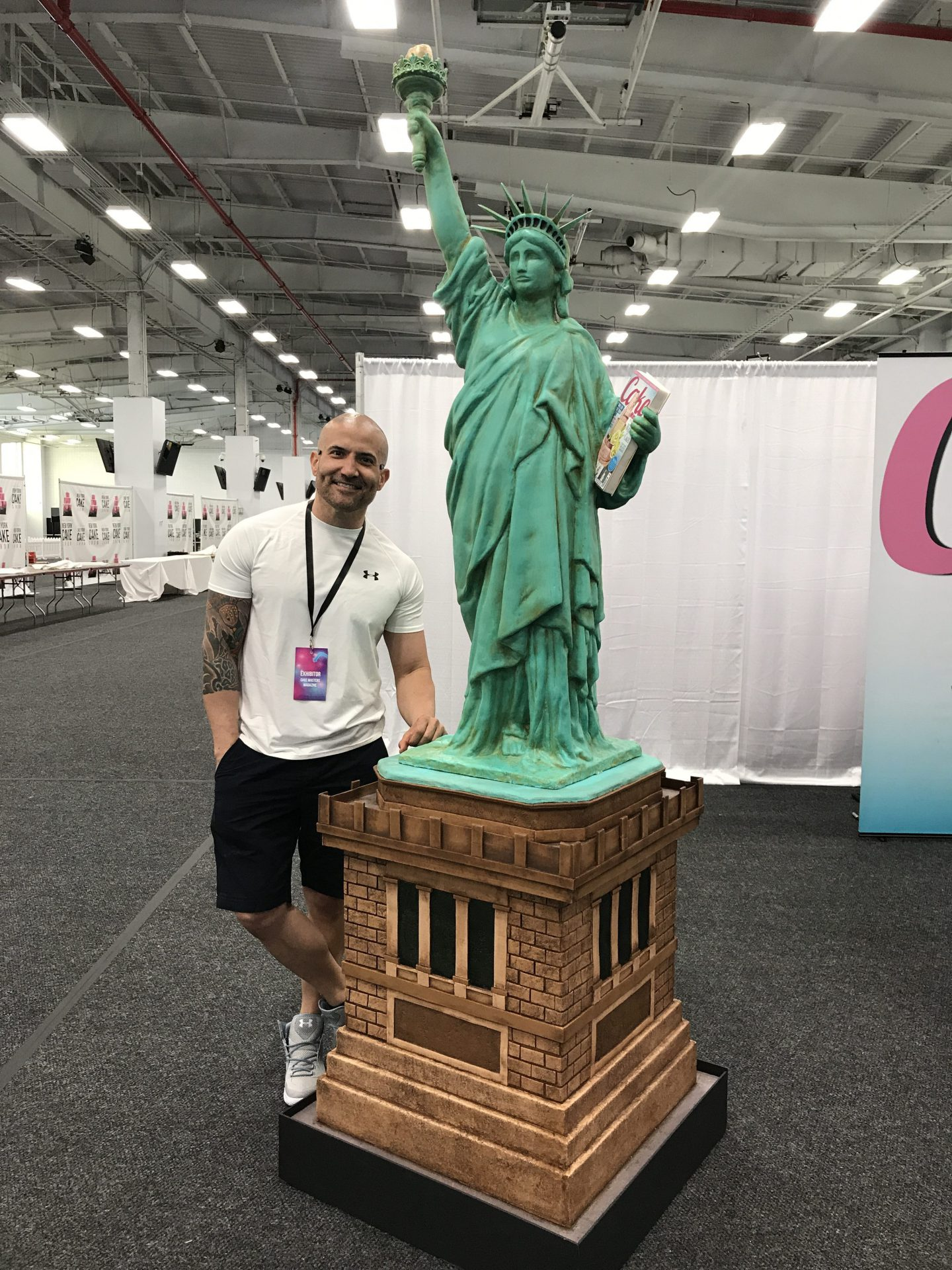 Statue of Liberty by Benny Rivera