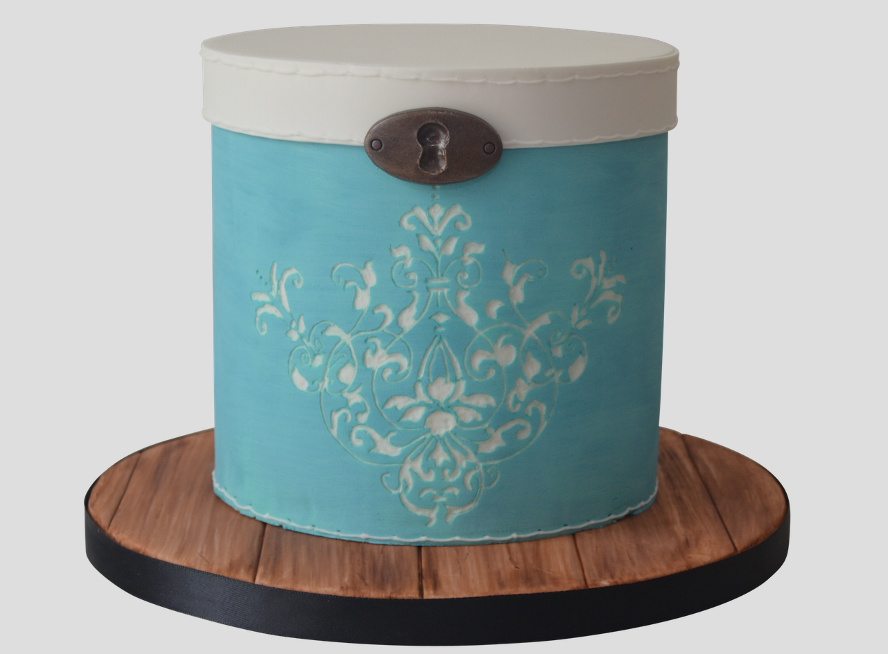 Vintage Cake Box Tutorial