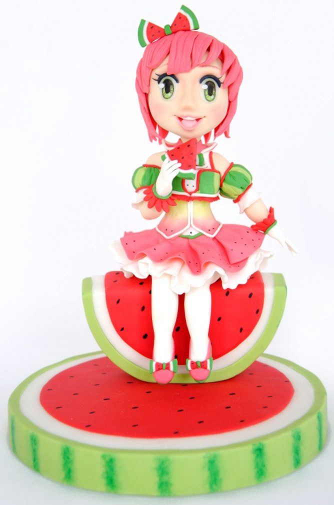 Watermelon Girl Tutorial Cake Masters Magazine