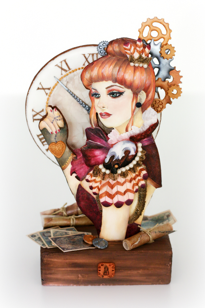 Steampunk Collaboration Cake Masters Magazine