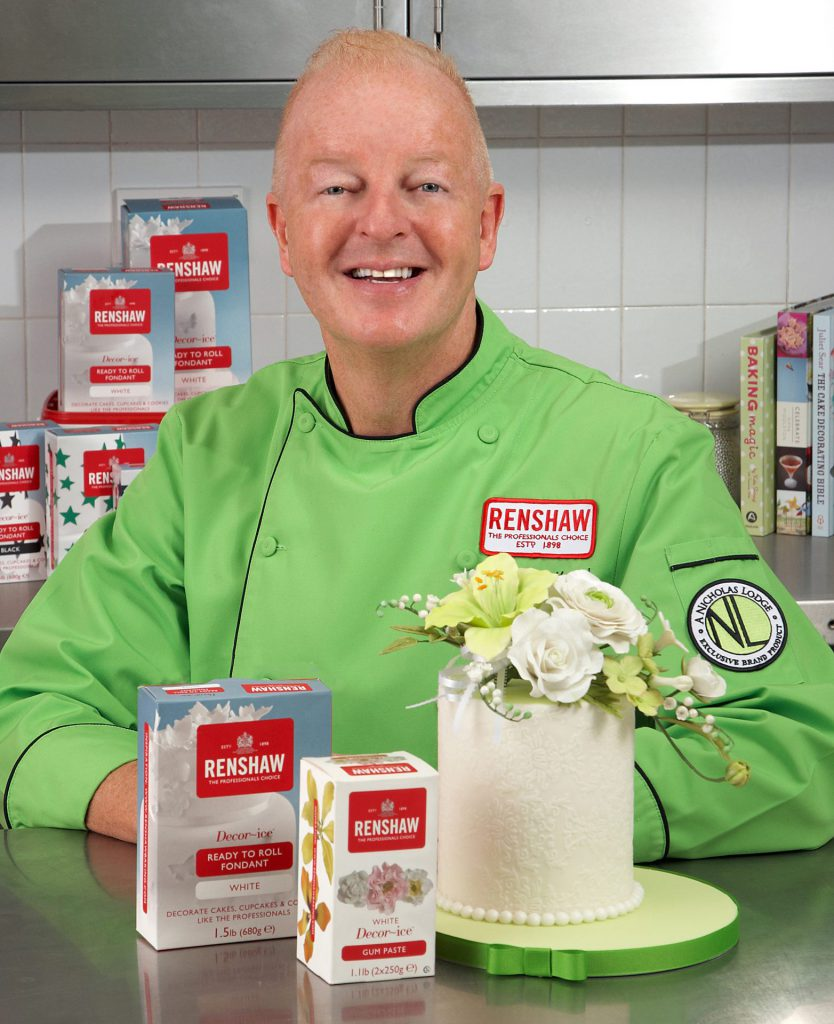 Nicholas Lodge Interview with Cake Masters Magazine