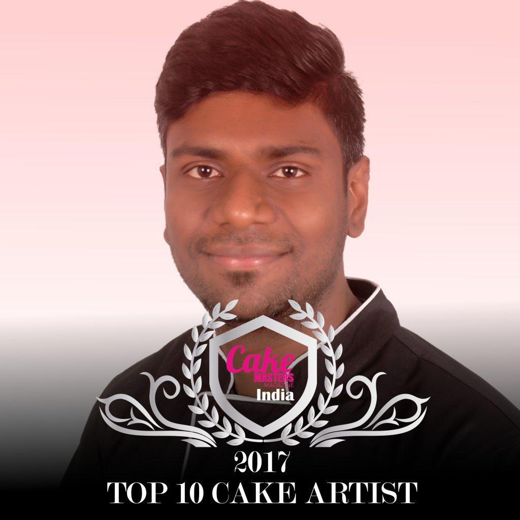 Samie J Ramchandran of Samie's cakes