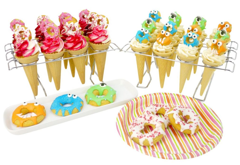 Funky Cupcake Cones Tutorial in Cake Masters Magazine