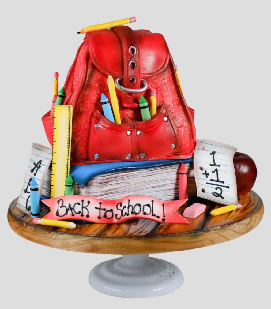 Paasche Tutorial in Cake Masters Magazine