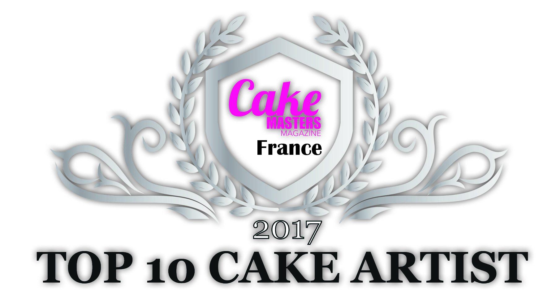 Cake Masters Magazine France – 2017 Top 10 Cake Artist