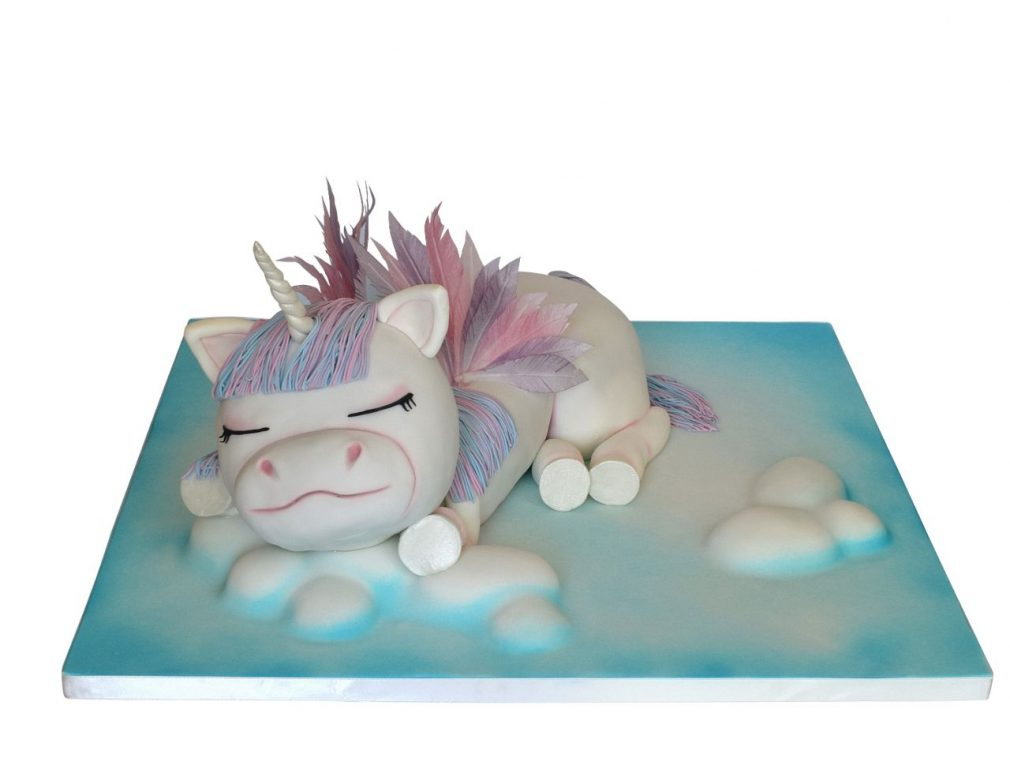 Cake Masters Magazine - Sleeping Unicorn Cake