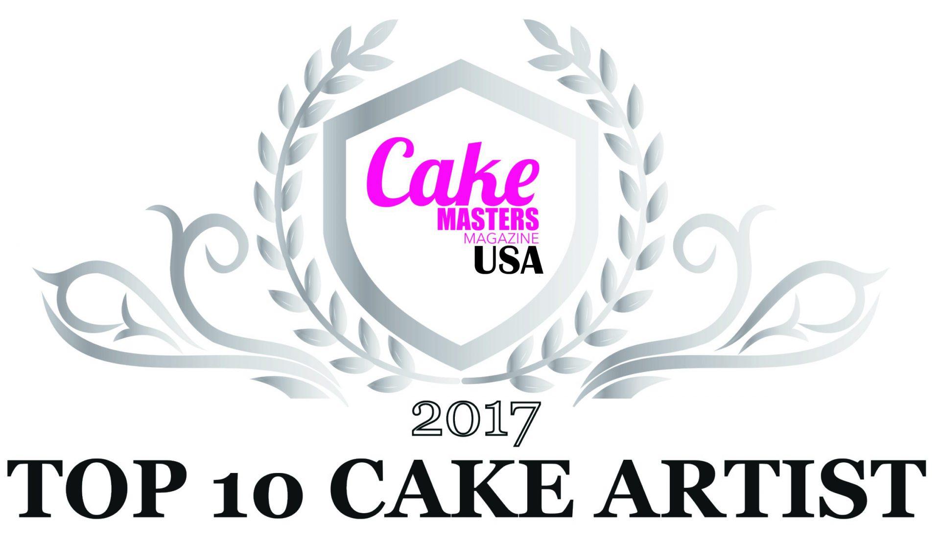 Cake Masters Magazine USA – 2017 Top 10 Cake Artist