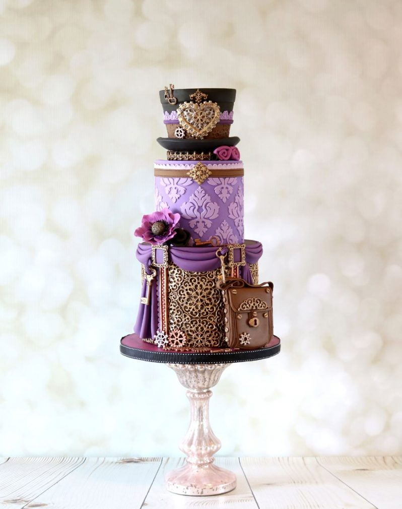 Cake Masters Magazine - Steampunk Chic Cake