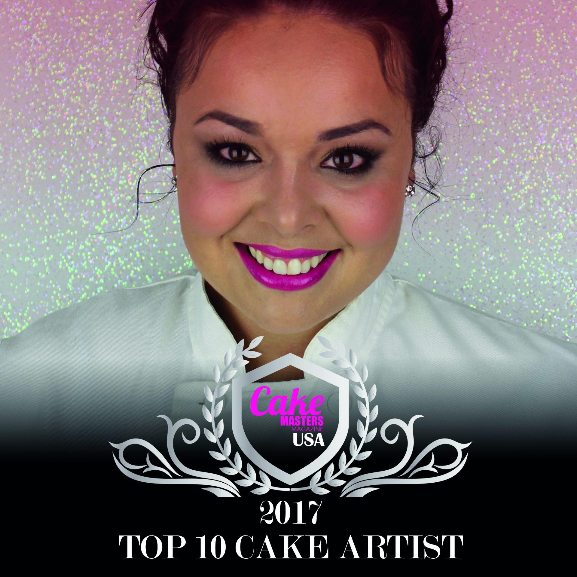 Benny Rivera Cake Artist : Cake Masters Magazine USA   2017 Top 10 Cake Artist Cake ...