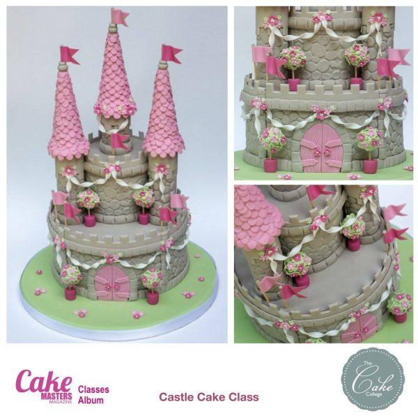 Castle Cake Class!