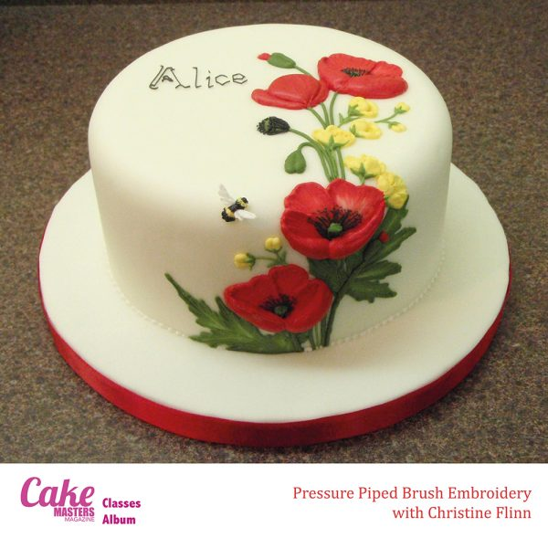 Royal icing workshop with Master Royal Icer Christine Flinn