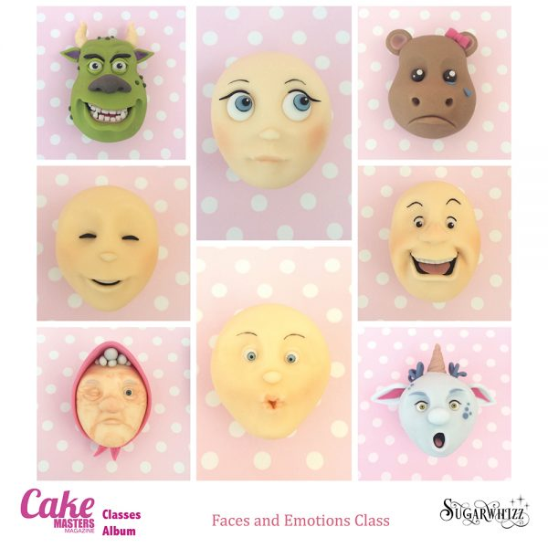 Faces and Emotions Class with Sugarwhizz