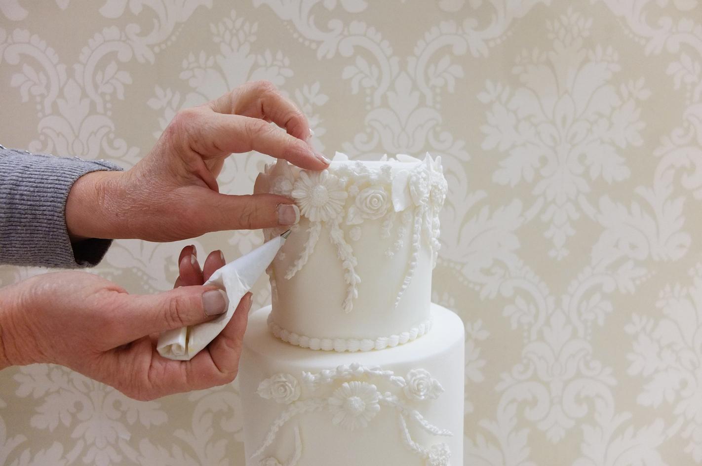 Royal Wedding Cake Karen Davies