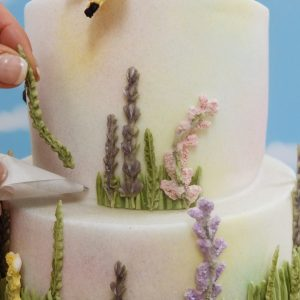 Wild Meadow Wedding Cake