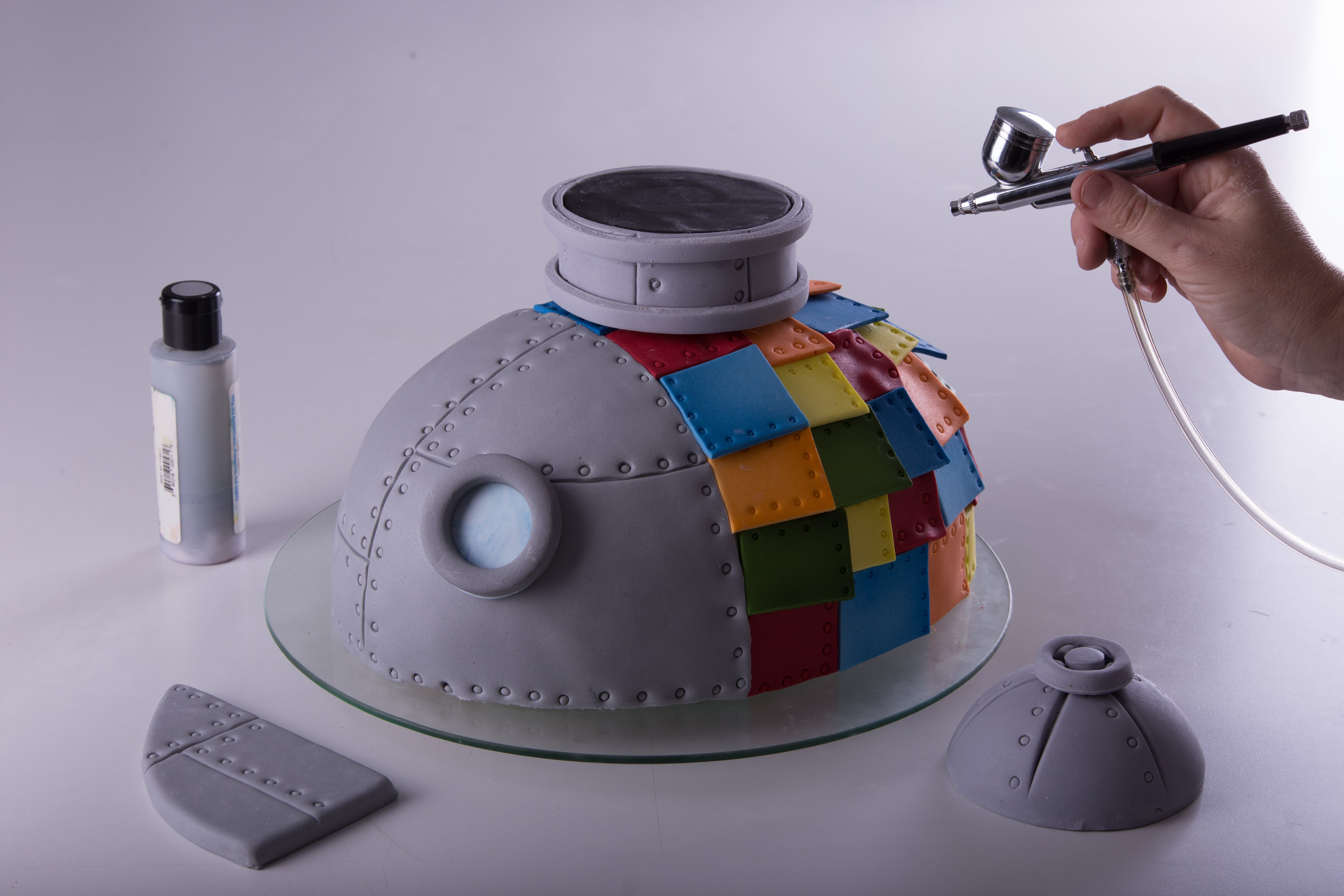 Tin Fish Soldier Cake