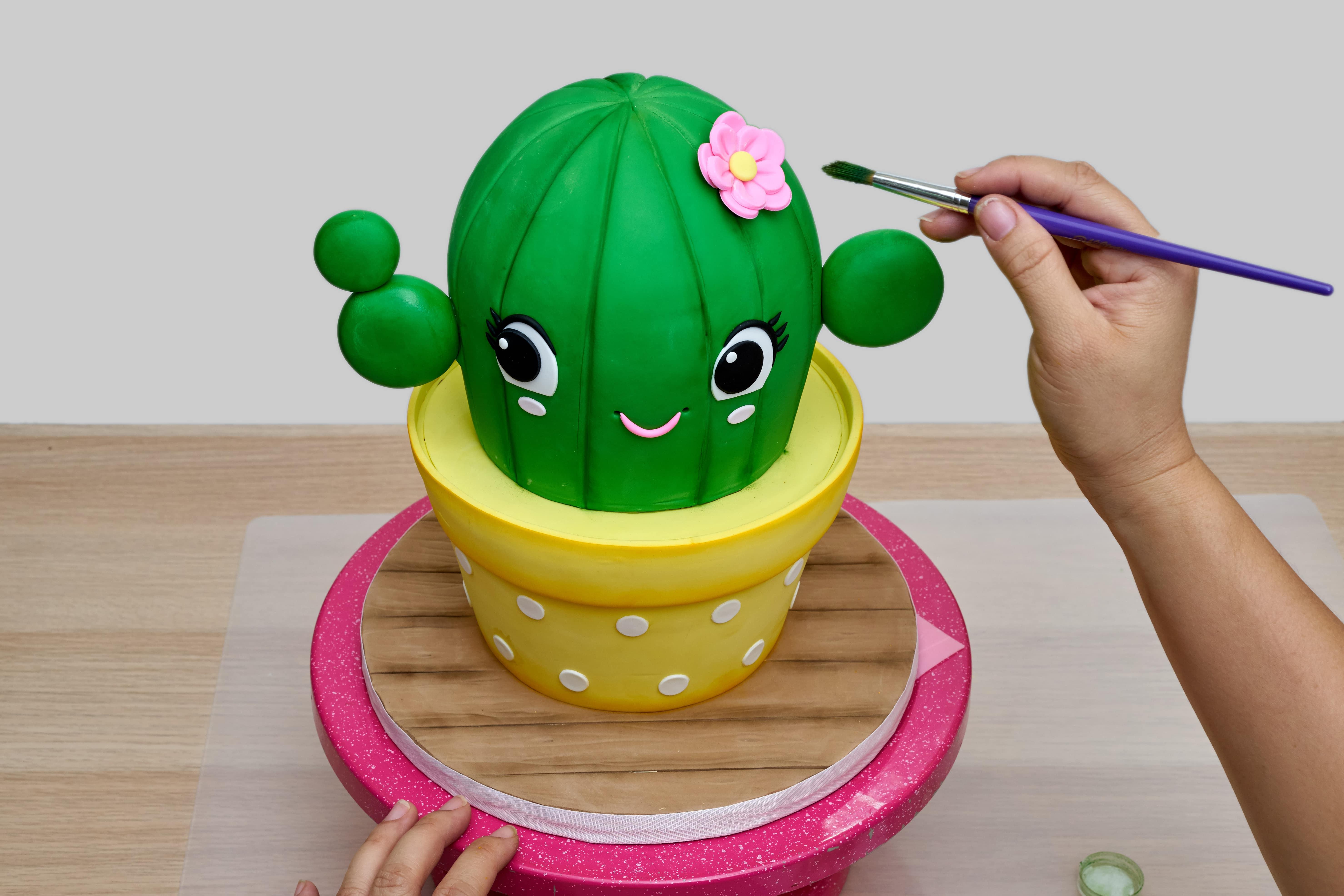 Cute Cactus Cake