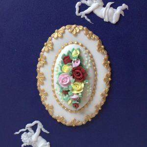 Vintage Royal Time Cake