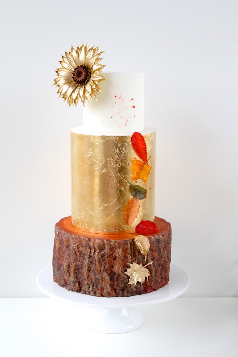 Golden Autumn Cake
