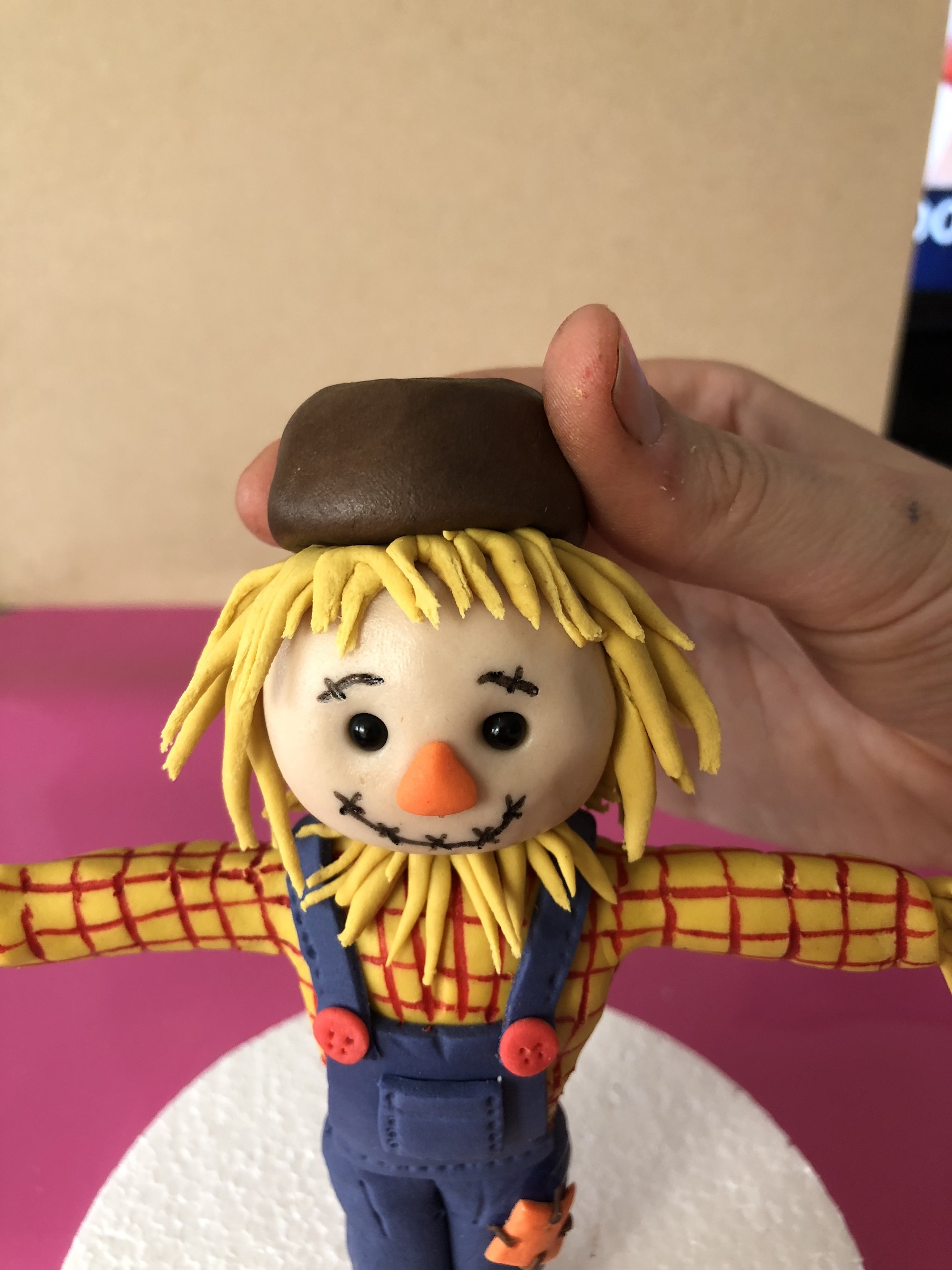 Sid the Scarecrow Cake