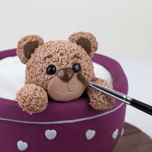 Teddy Teacup Cake