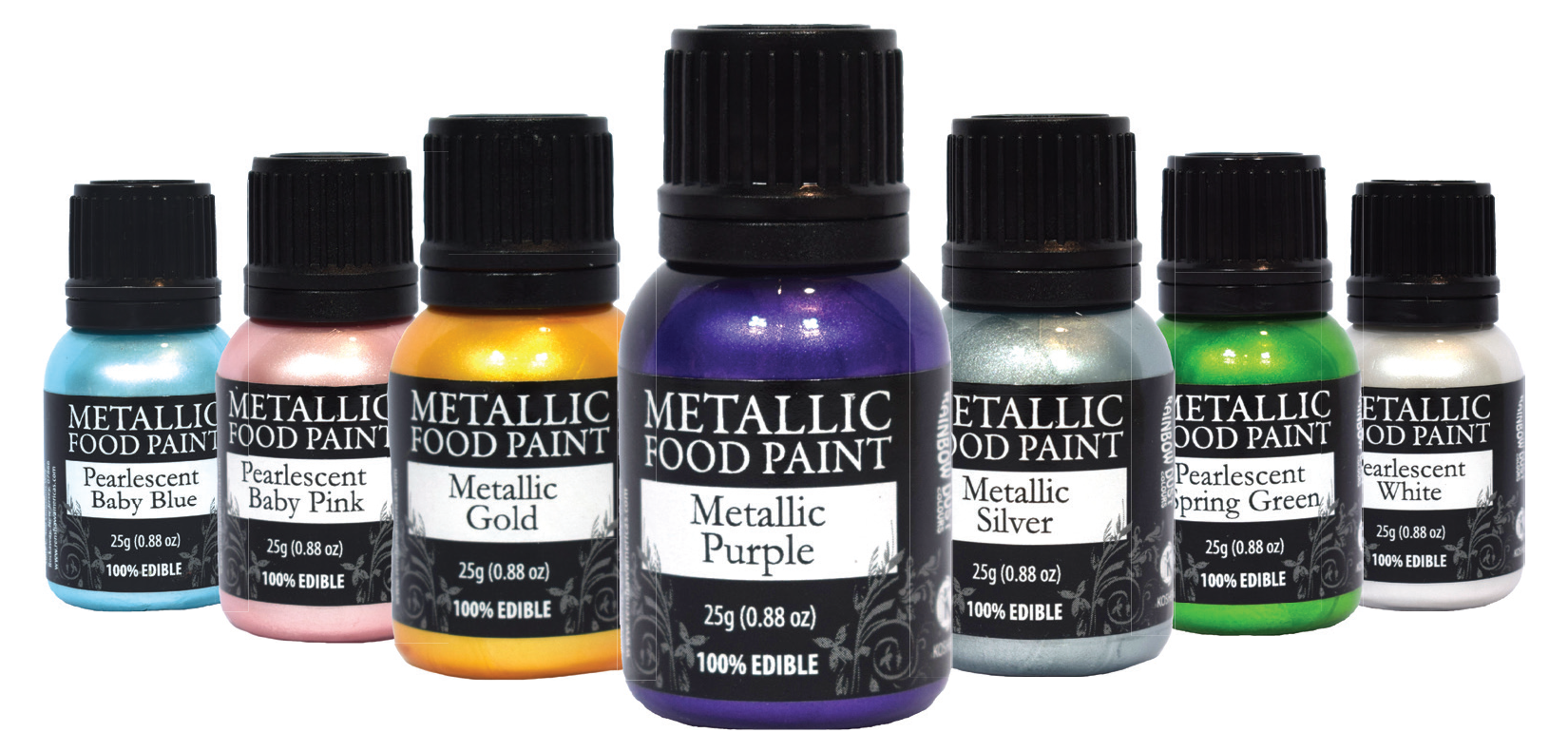 Metallic Food Paints