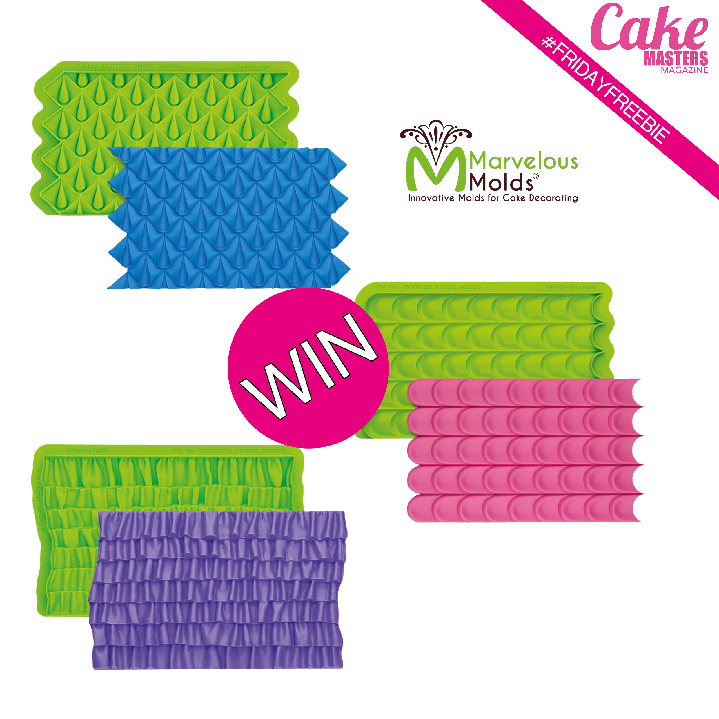 Win our Marvelous Molds Friday Freebie!