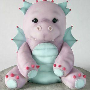 Darcie the Dragon Tutorial Cake Masters Magazine