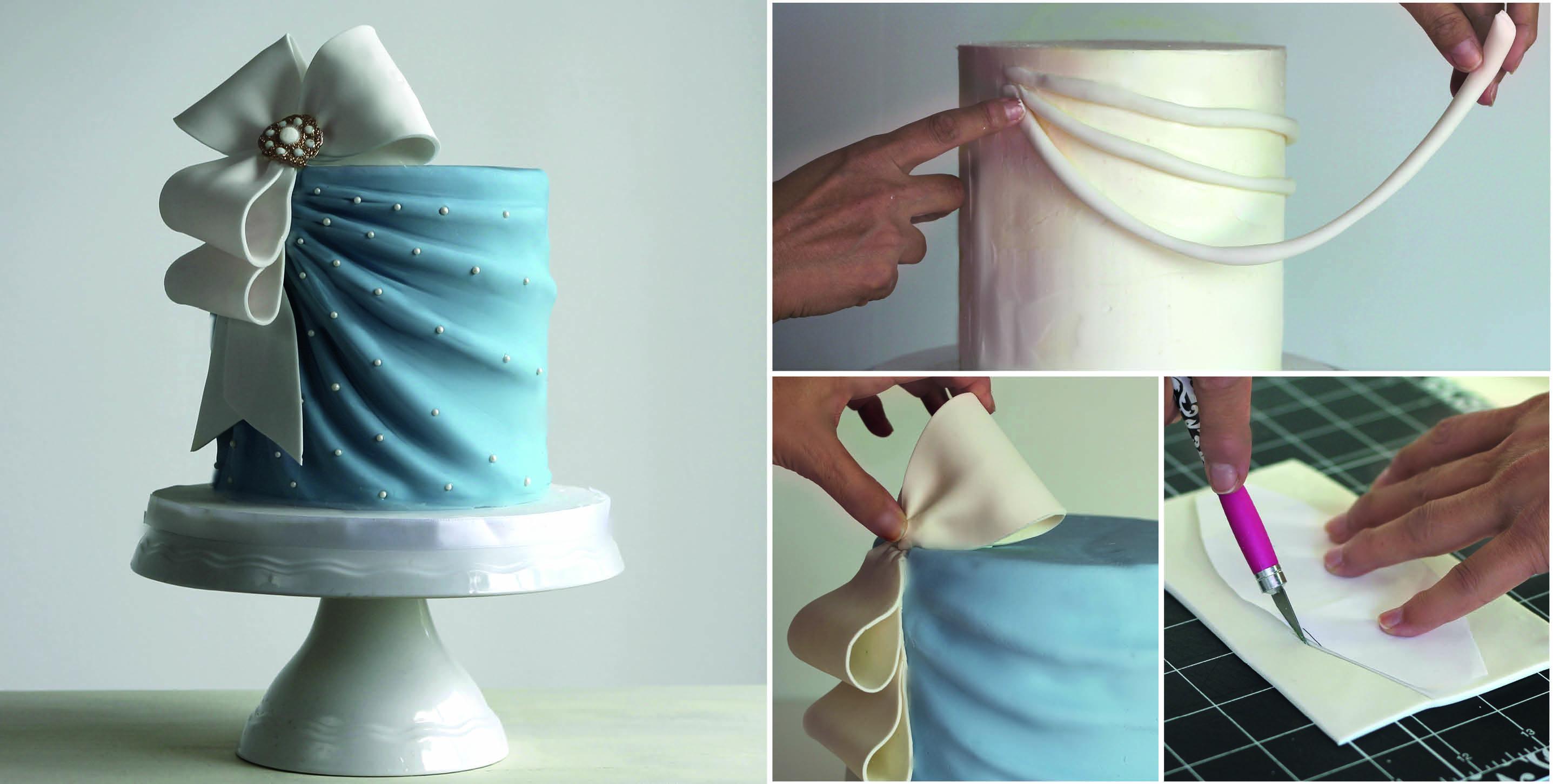 Elegant Drapes Cake Tutorial Cake Masters Magazine
