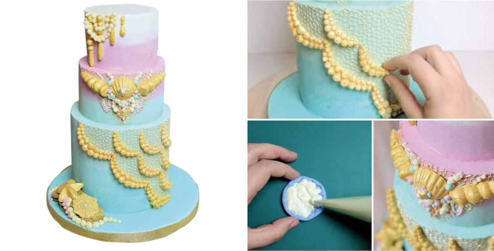 Buttercream Tutorial in Cake Masters Magazine