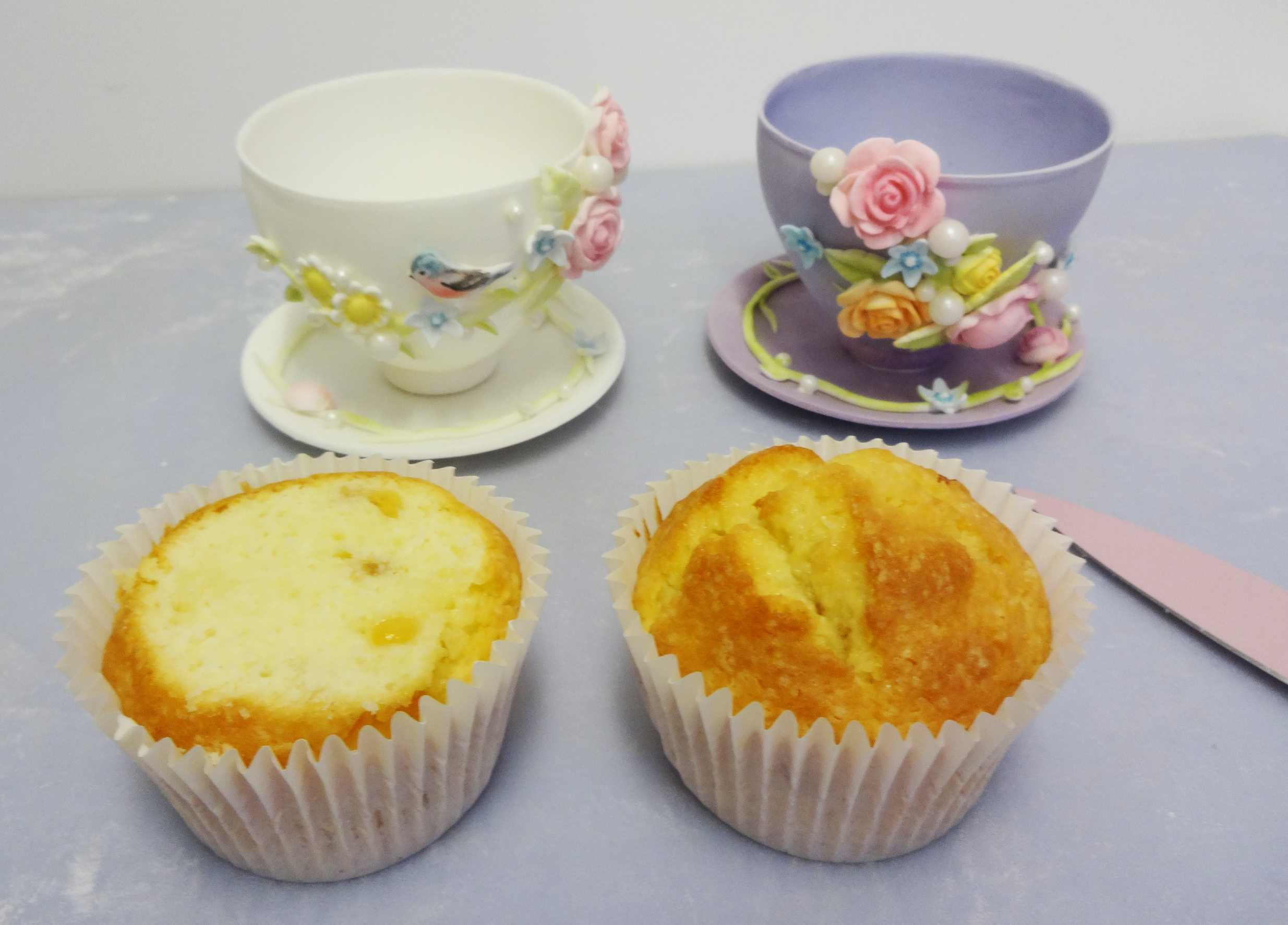 Teacup Cupcake Tutorial in Cake Masters Magazine