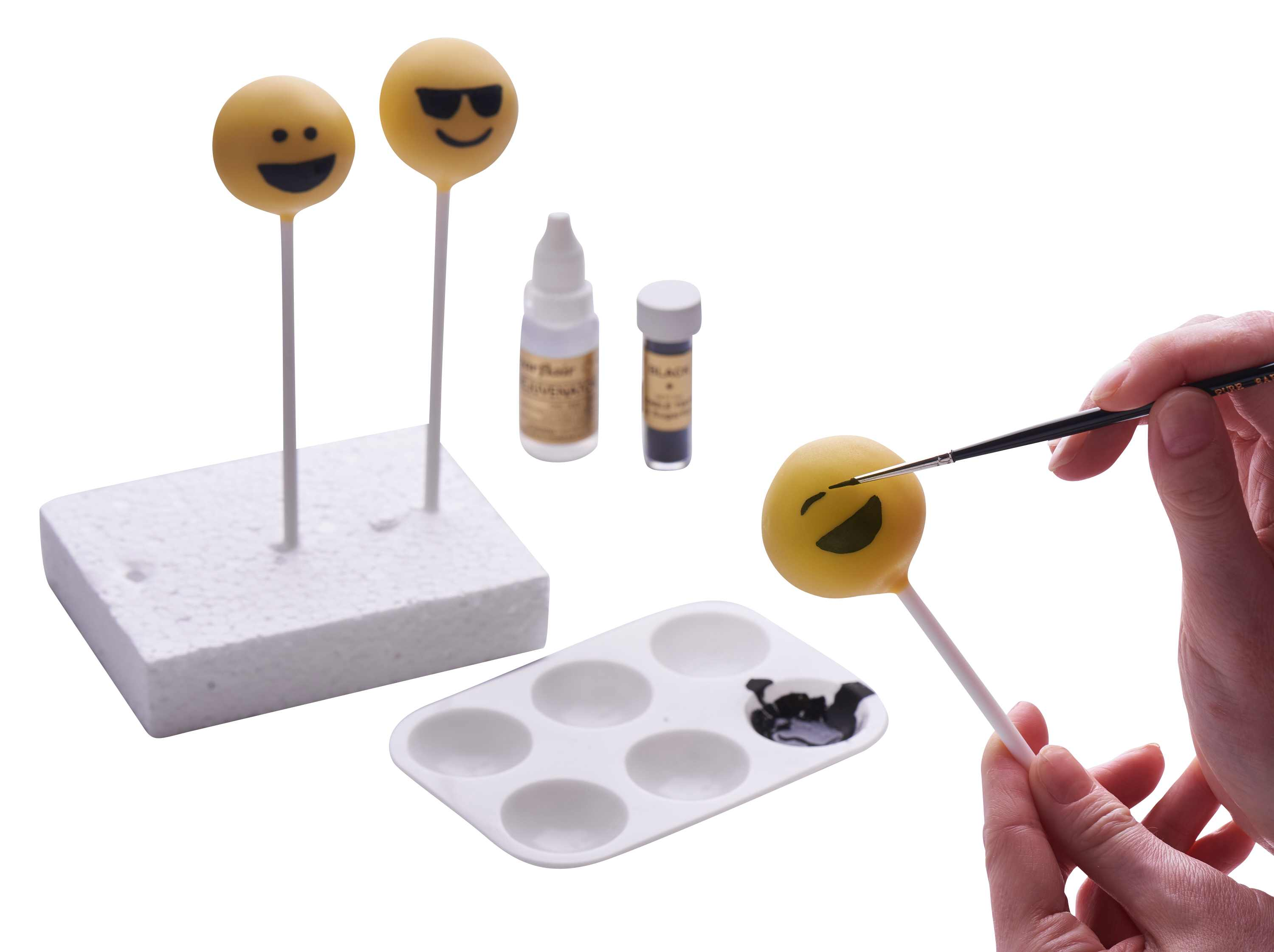Emoji Cake Pops Tutorial in Cake Masters Magazine