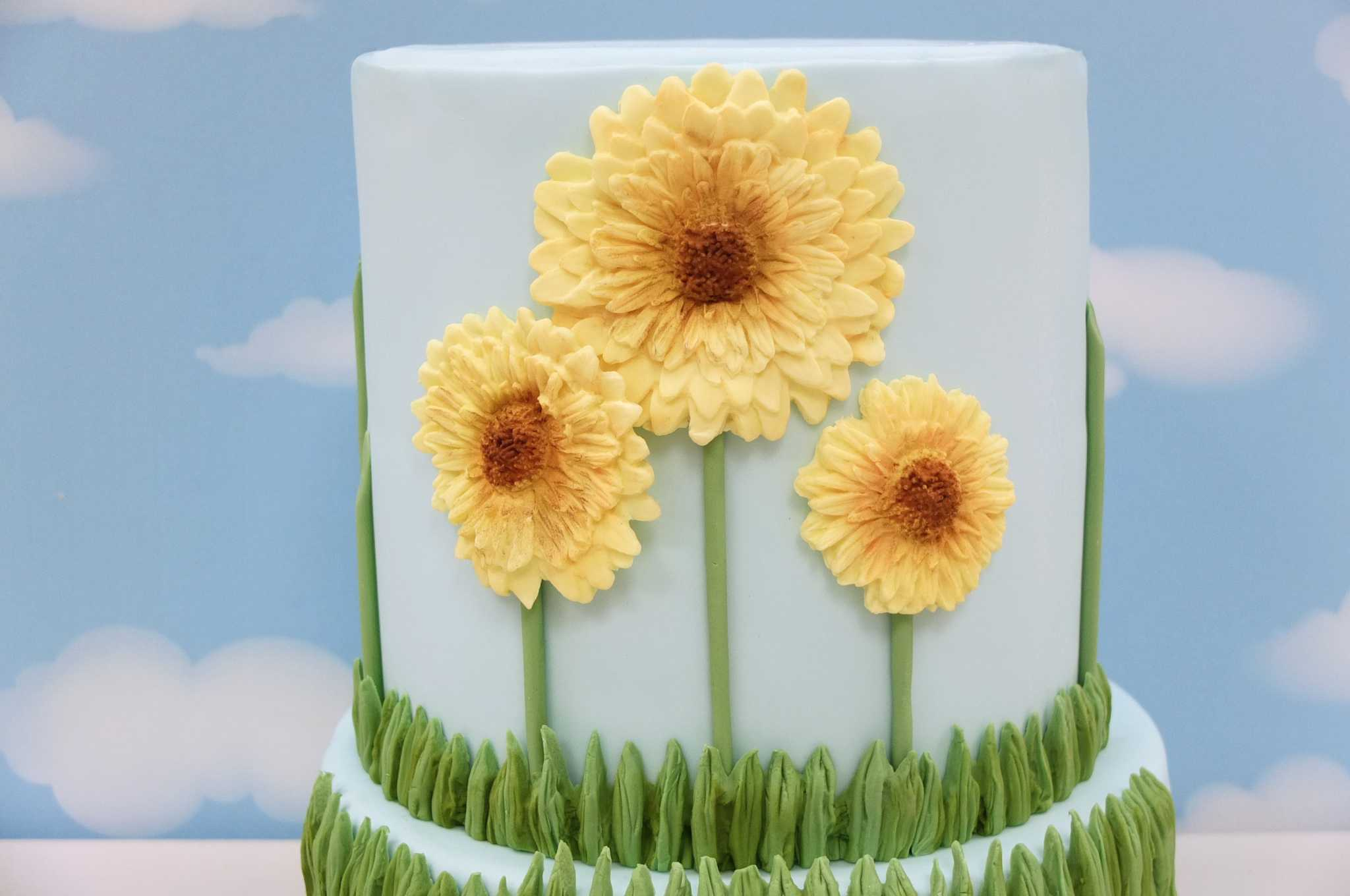 Spring Cake Tutorial March 18 Cake Masters Magazine