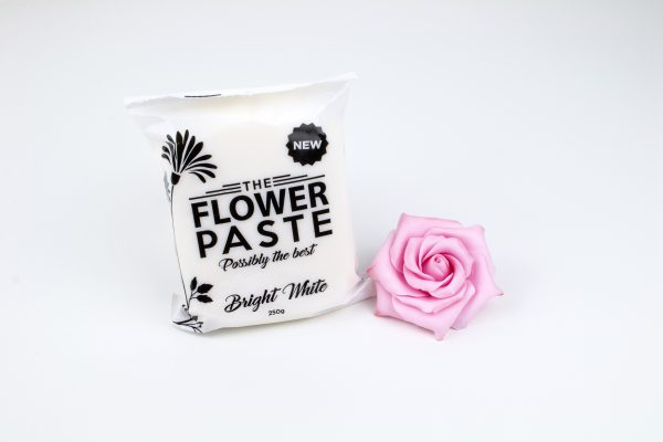 The Flower Paste and the Pink Sugar Rose