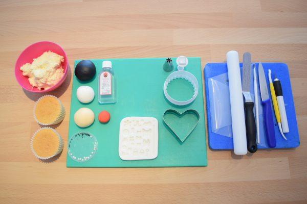 Bride & Groom Cupcake Toppers - Equipment