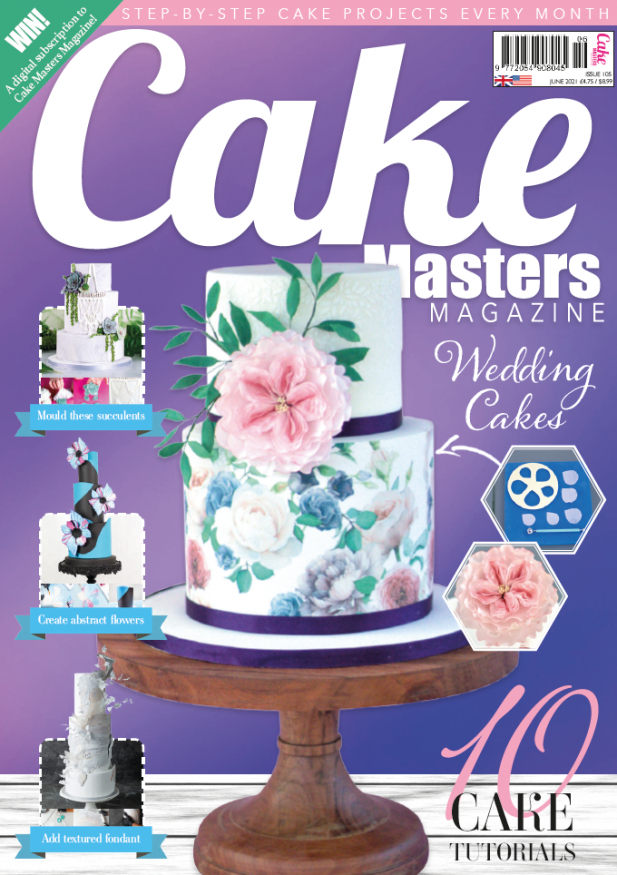 Learn to make Wedding cakes June Cake Masters Magazine